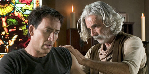 Nicolas Cage und Sam Elliott in «Ghost Rider»
