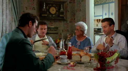 Ray Liotta, Joe Pesci, Catherine Scorsese und Robert De Niro in «GoodFellas»
