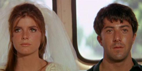 Katharine Ross und Dustin Hoffman in «The Graduate»