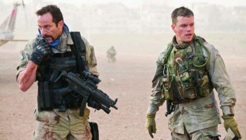 Jason Isaacs und Matt Damon in «Green Zone»