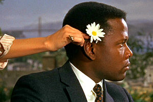 Sidney Poitier in «Guess Whos Coming to Diner»