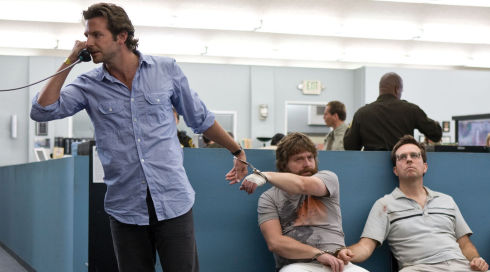 Bradley Cooper, Zach Galifianakis und Ed Helms in «The Hangover»