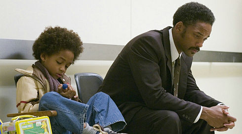 Jaden Smith und Will Smith in «The Pursuit of Happyness»