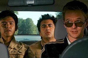 John Cho, Kal Penn und Neil Patrick Harris in «Harold & Kumar Escape from Guantanamo Bay»