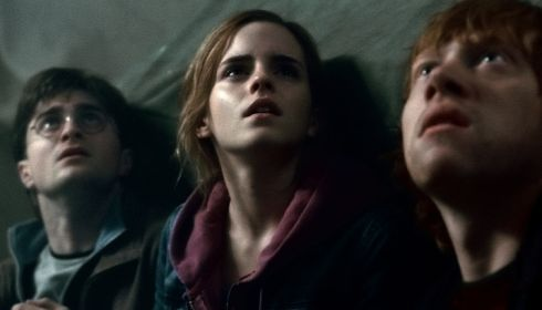 Daniel Radcliffe, Emma Watson und Rupert Grint in «Harry Potter and the Deathly Hallows Part 2»