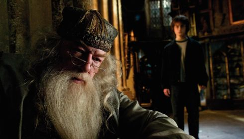 Michael Gambon und Daniel Radcliffe in «Harry Potter and the Goblet of Fire»