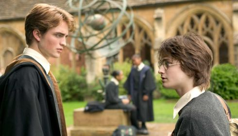 Robert Pattinson und Daniel Radcliffe in «Harry Potter and the Goblet of Fire»