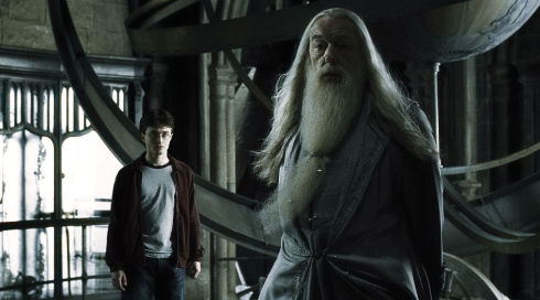 Daniel Radcliffe und Michael Gambon in «Harry Potter and the Half-Blood Prince»