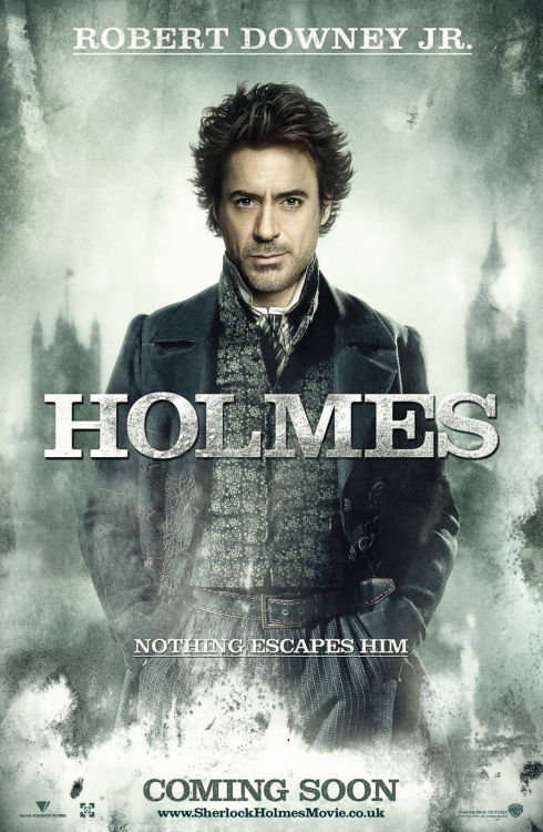 Robert Downey Jr. als Sherlock Holmes