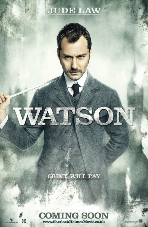 Jude Law als Dr. John Watson