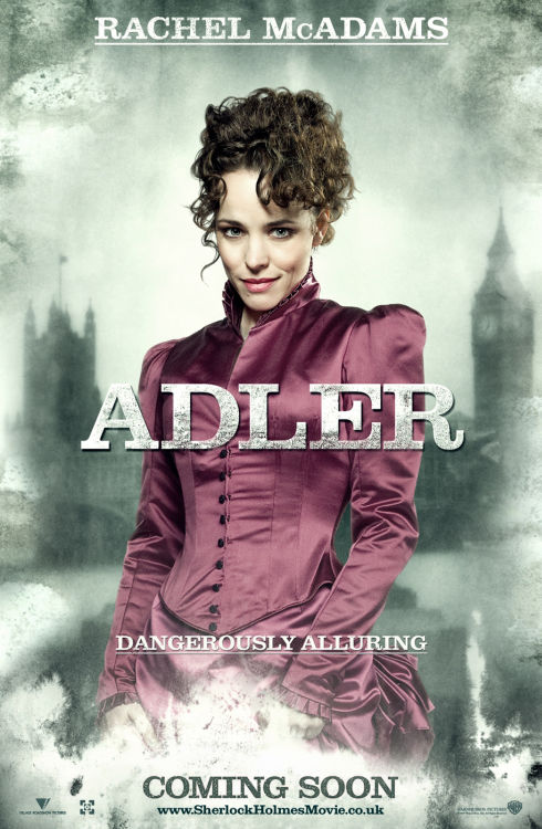 Rachel McAdams als Irene Adler