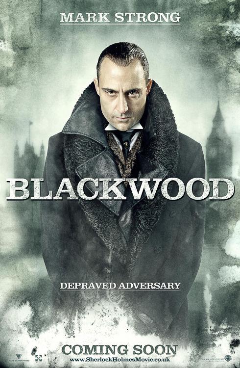 Mark Strong in «Sherlock Holmes»