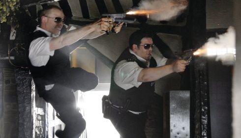 Simon Pegg und Nick Frost in «Hot Fuzz»
