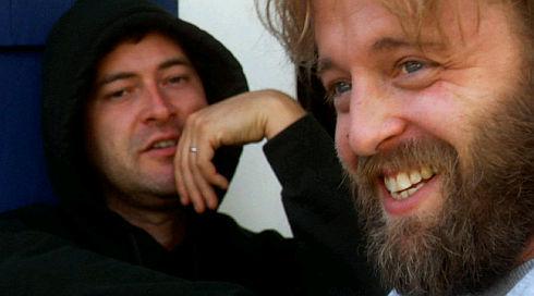 Mark Duplass und Joshua Leonard in «Humpday»