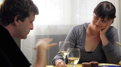 Mark Duplass und Alycia Delmore in «Humpday»