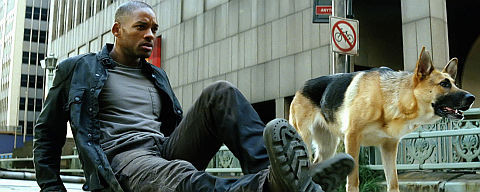 Will Smith in «I Am Legend»