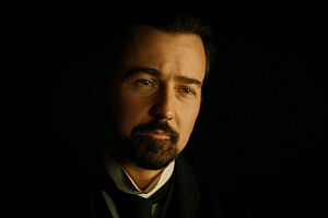 Edward Norton in «The Illusionist»
