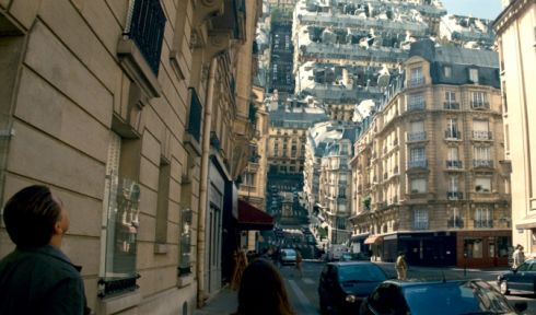 Leonardo DiCaprio und Ellen Page in «Inception»