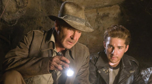 Harrison Ford und Shia LaBeouf in «Indiana Jones and the Kingdom of the Crystal Skull»