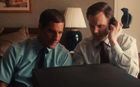 Scott Bakula und Joel McHale in «The Informant!»