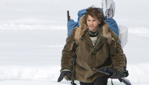 Emile Hirsch in «Into the Wild»