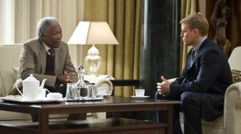 Morgan Freeman und Matt Damon in «Invictus»