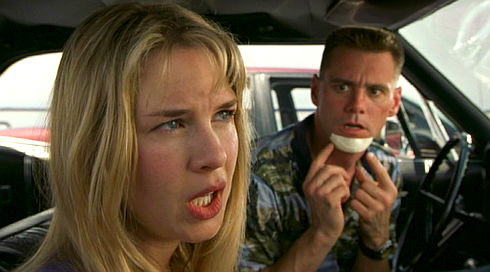 Renée Zellweger und Jim Carrey in «Me, Myself & Irene»