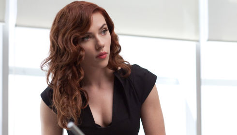 Scarlett Johansson in «Iron Man 2»