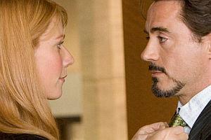 Gwyneth Paltrow und Robert Downey Jr. in «Iron Man»