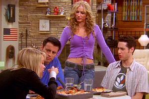 Andrea Anders, Matt LeBlanc, Drea de Matteo und Paulo Costanzo in «Joey»