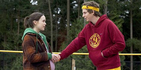 Ellen Page und Michael Cera in «Juno»