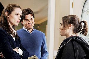 Jennifer Garner, Jason Bateman und Ellen Page in «Juno»