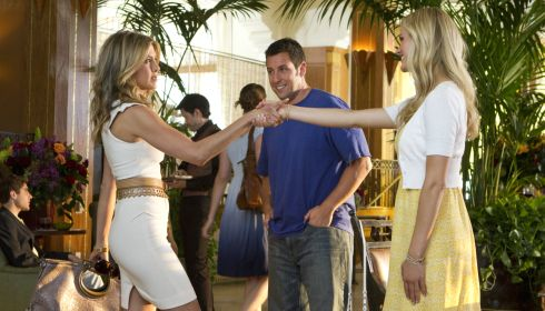 Jennifer Aniston, Adam Sandler und Brooklyn Decker in «Just Go With It»