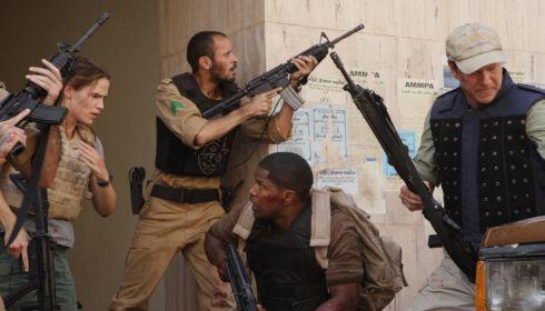 Jennifer Garner, Ali Suliman, Jamie Foxx und Chris Cooper in «The Kingdom»