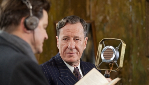 Colin Firth und Geoffrey Rush in «The King's Speech»