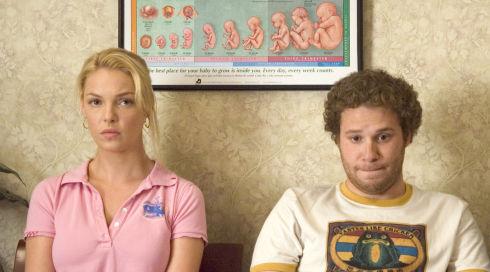 Katherine Heigl und Seth Rogen in «Knocked Up»