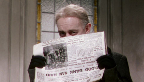 Alec Guinness in «The Ladykillers»