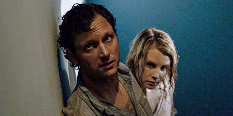 Tony Goldwyn und Monica Potter in «The Last House on the Left»