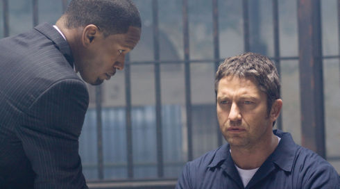Jamie Foxx und Gerard Butler in «Law Abiding Citizen»