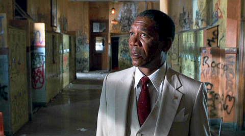 Morgan Freeman in «Lean on Me»
