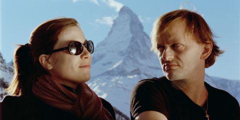 Barbara Maurer und Milan Peschel in «Lenz»