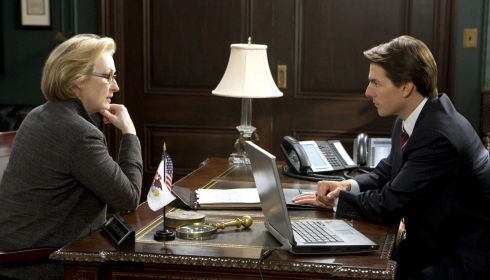 Meryl Streep und Tom Cruise in «Lions for Lambs»