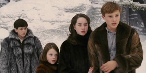 Skandar Keynes, Georgie Henley, Anna Popplewell und William Moseley in «The Chronicles of Narnia: The Lion, the Witch and the Wardrobe»