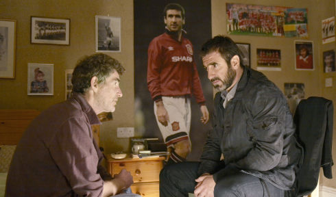 Steve Evets und Éric Cantona in «Looking for Eric»