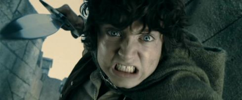 Elijah Wood in «The Lord of the Rings»