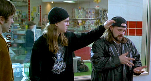 Jason Mewes und Kevin Smith in Mallrats