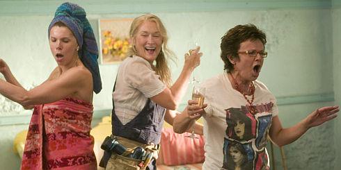 Christine Baranski, Meryl Streep und Julie Walters in «Mamma Mia!»