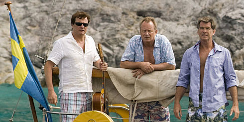 Colin Firth, Stellan Skarsgård, Pierce Brosnan in «Mamma Mia!»