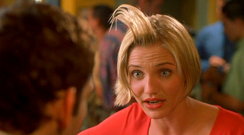 Cameron Diaz in «There's Something About Mary»
