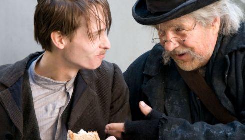 Tom Schilling und Götz George in «Mein Kampf»